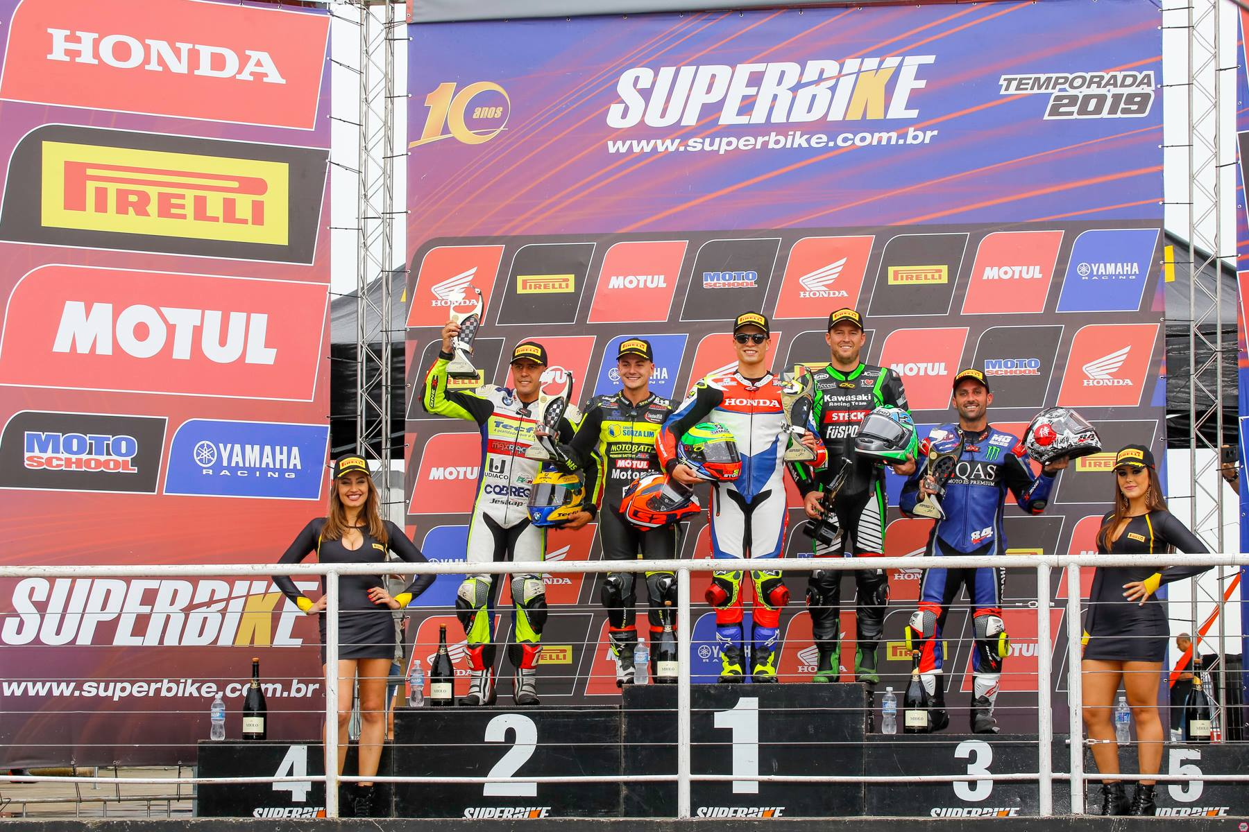 Brasil SuperBike – Vittoria di Granado. Terzo West che rafforza la sua leadership in classifica