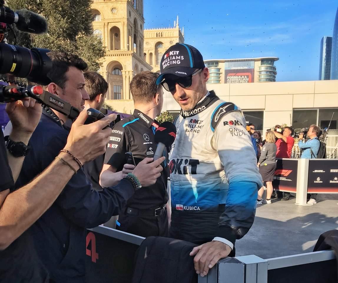 """Robert Kubica """"Ringrazio i meccanici per il grande lavoro svolto"""""""