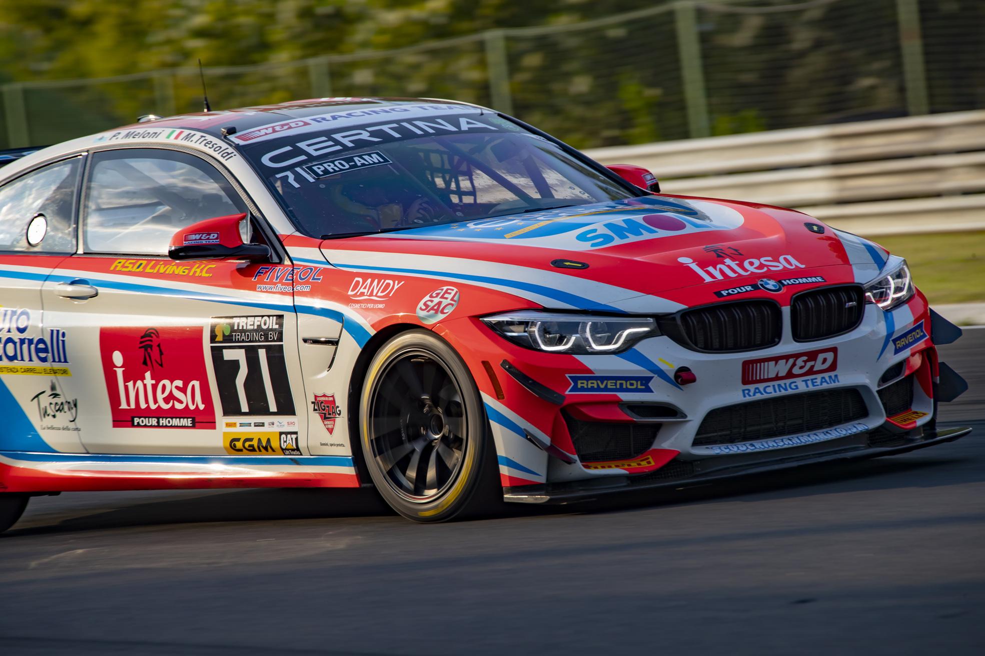 Paolo Meloni e Max Tresoldi nella GT4 European Series