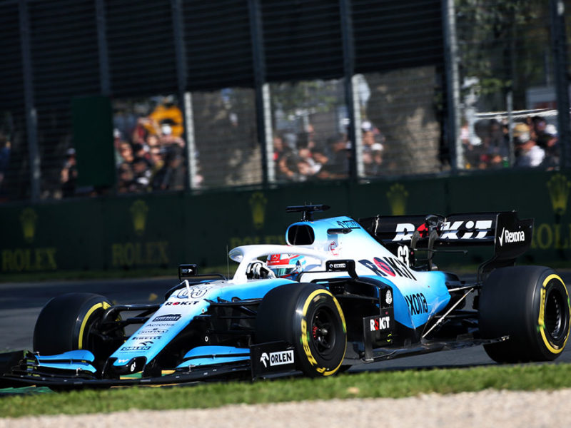 George Russell (GBR) Williams Racing FW42. Australian Grand Prix, Sunday 17th March 2019. Albert Park, Melbourne, Australia.