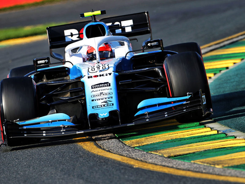 Robert Kubica (POL) Williams Racing FW42. Australian Grand Prix, Sunday 17th March 2019. Albert Park, Melbourne, Australia.