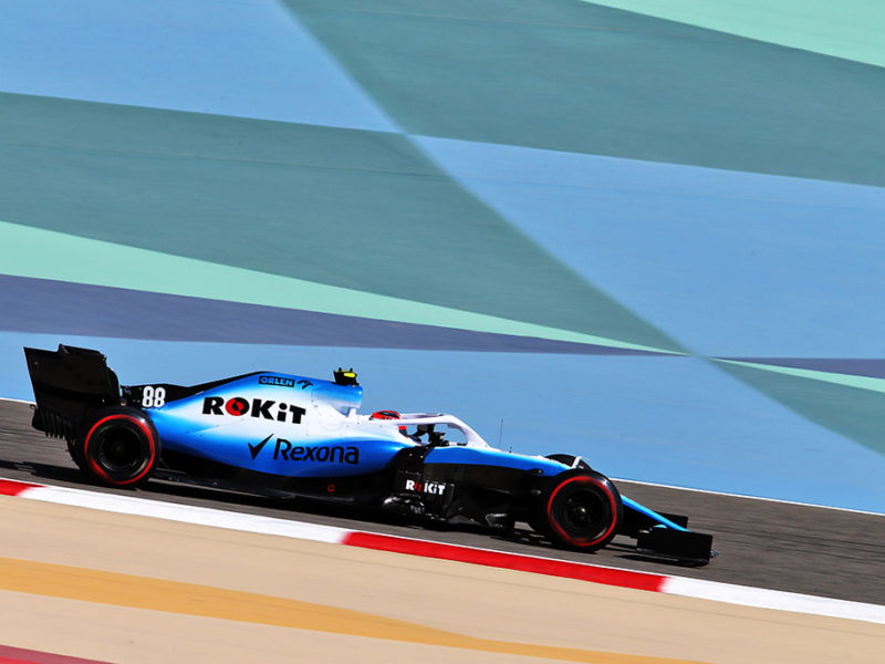 Robert Kubica (POL) Williams Racing FW42. Bahrain Grand Prix, Friday 29th March 2019. Sakhir, Bahrain.