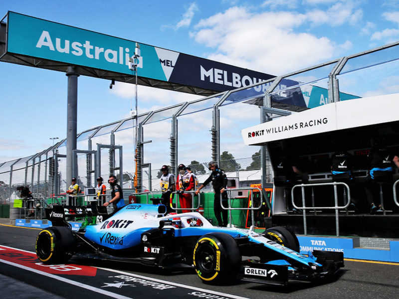 George Russell (GBR) Williams Racing FW42. Australian Grand Prix, Friday 15th March 2019. Albert Park, Melbourne, Australia.