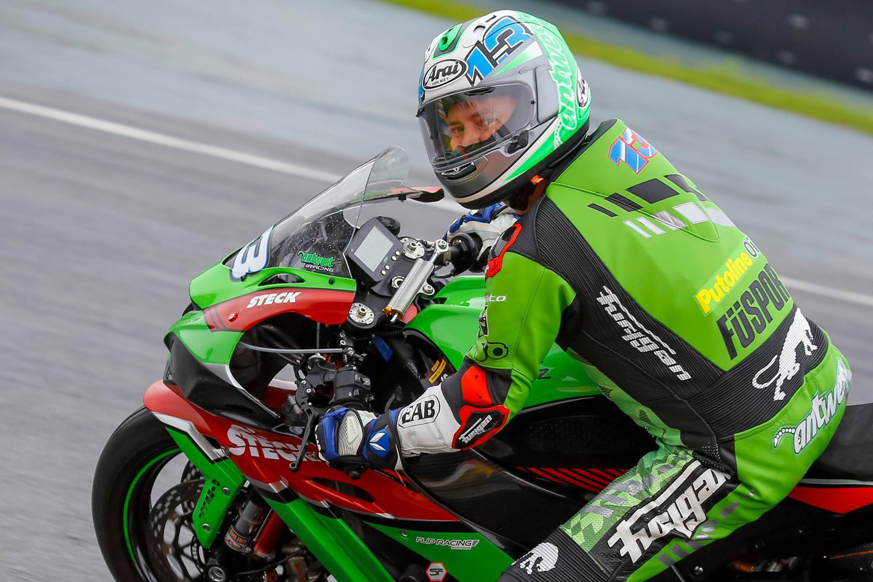 """Anthony West """"It costs  a lot of money fighting the FIM. I don't have any money left"""""""