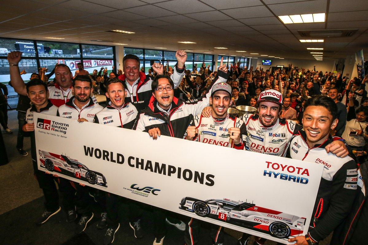 Toyota Hibrid è Campione del Mondo Endurance
