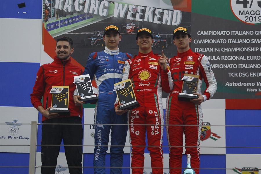 Il Campionato Italiano di Formula 4 è dominato dagli stranieri. Gli italiani brillano nelle Gran Turismo