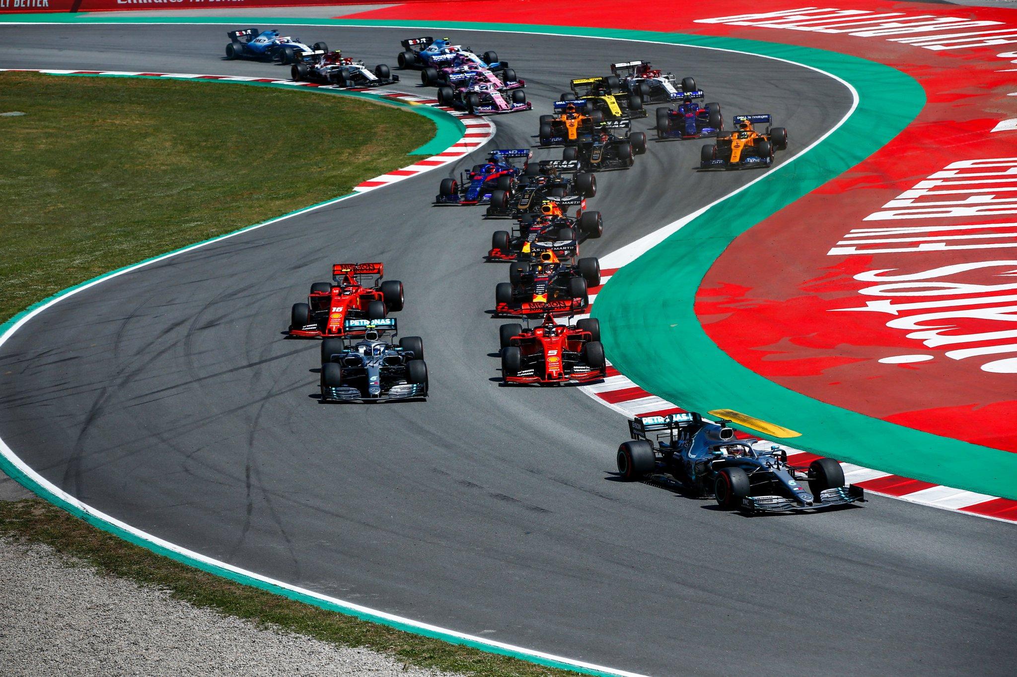 Formula 1 soporifera –  Formula 2 entusiasmante