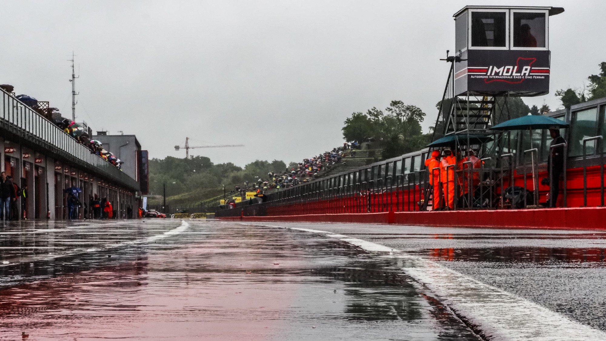 Piove sul WSBK