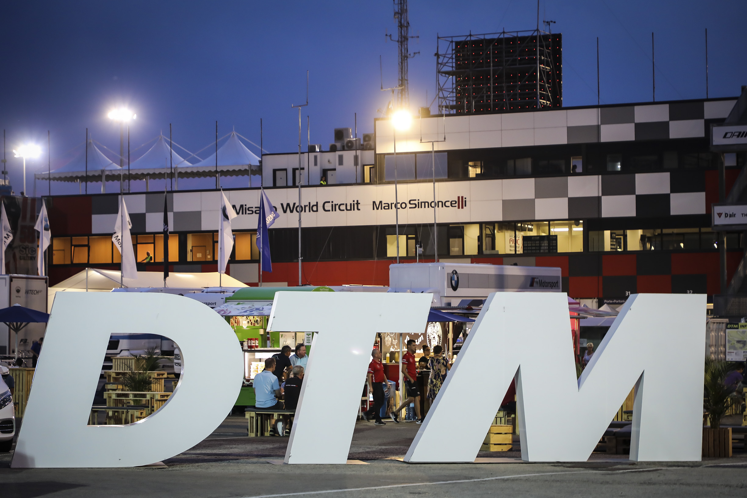 DTM, W Series e Campionato  Italiano TCR DSG Endurance