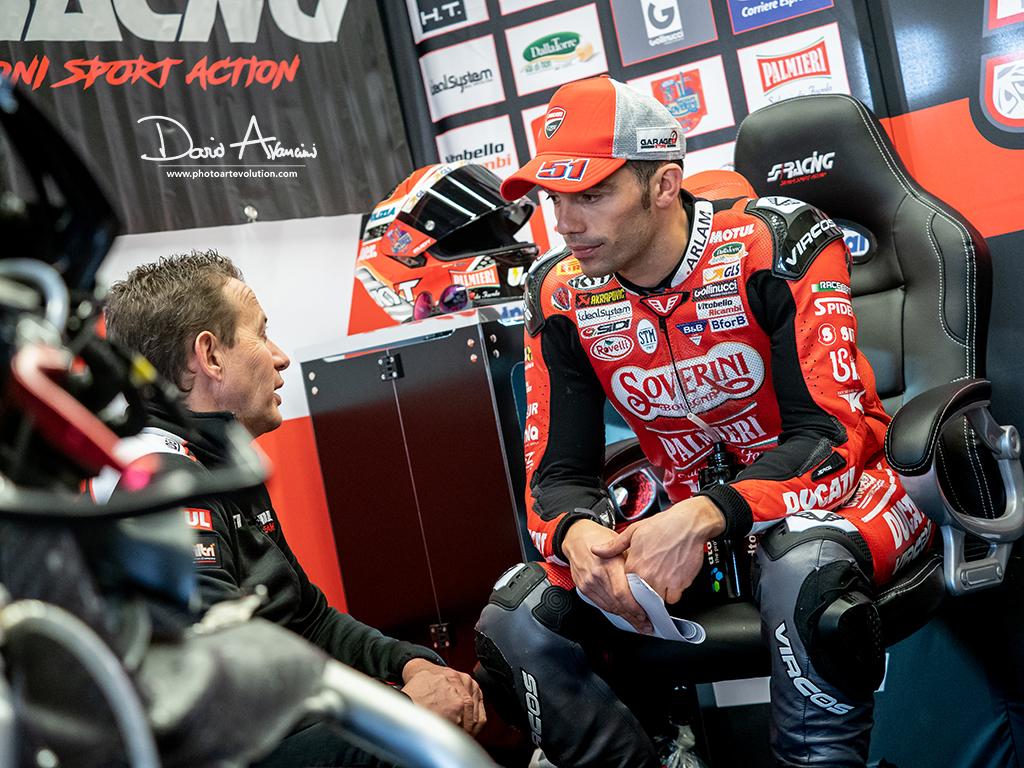 """Michele Pirro, dopo la wild card in MotoGP quella nel WSBK """"Non vedo l'ora!"""""""