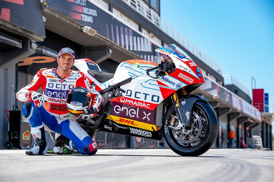 """Alex De Angelis """"Le Moto E sono moto cui bisogna dare del lei. Il Sachsenring è una pista amica e…""""."""