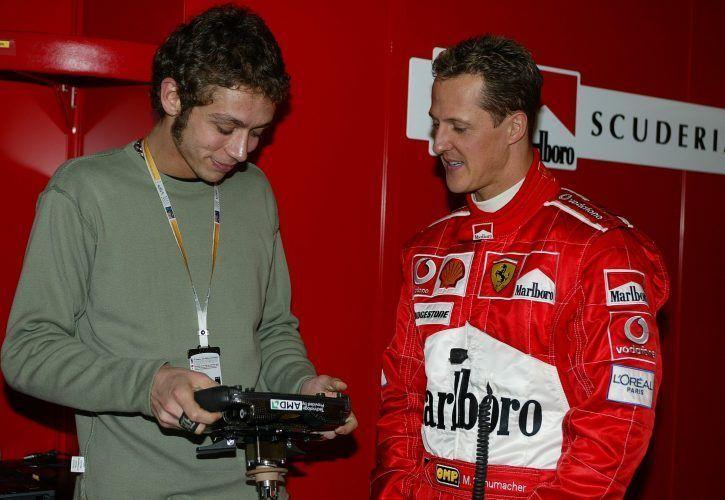 2004 – Quando la Formula 1 invocava l'arrivo di Valentino Rossi…