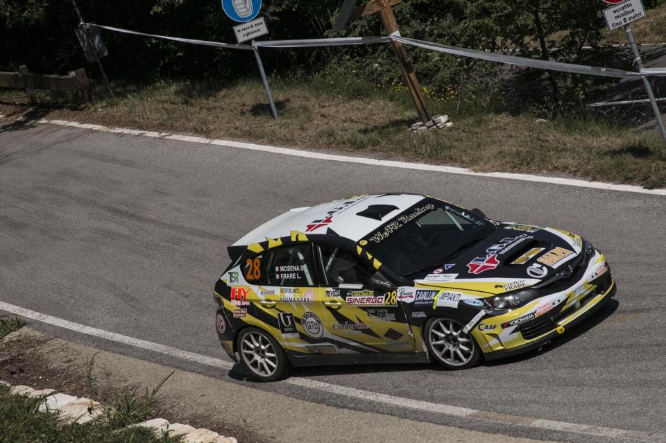 Vittoria di classe per la War Racing al Rally della Marca