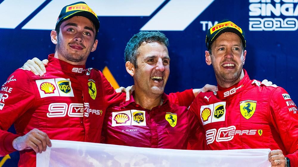 Tifosi Ferrari divisi tra  Vettel e Leclerc. Doppietta da sogno, eppure…