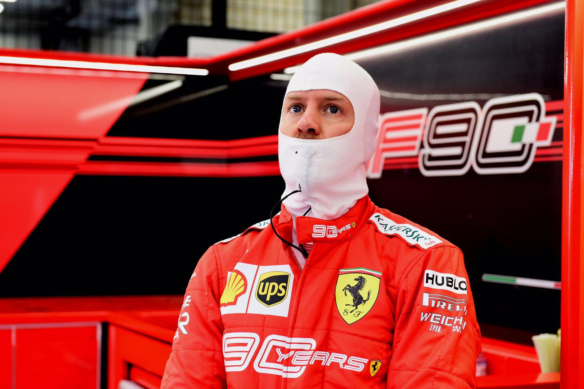 Tutti con Leclerc, tutti contro Vettel