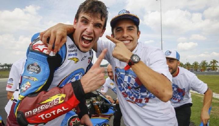 Marquez brothers. L'emozione di un abbraccio
