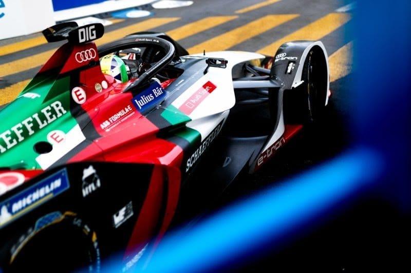 Mattia Drudi in Formula E come pilota di supporto e sviluppo Audi Sport team Abt Schaeffler