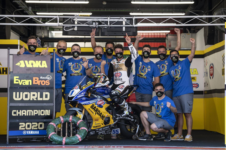 Andrea Locatelli è il nuovo Campione del Mondo Supersport