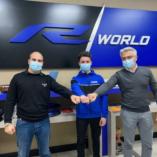 Il team ParkinGO torna nel Mondiale Supersport 2021  con Yamaha Motor Europe
