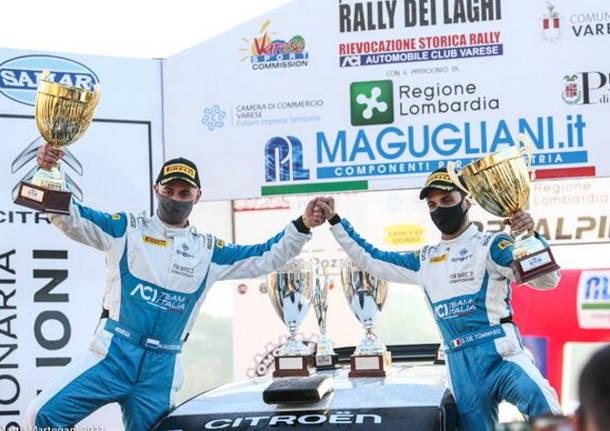 Massimo Bizzocchi vince il Rally dei Laghi assieme al lombardo Damiano De Tommaso. Successo anche per Pelliccioni -Selva al Rally Storico Valle del Tevere