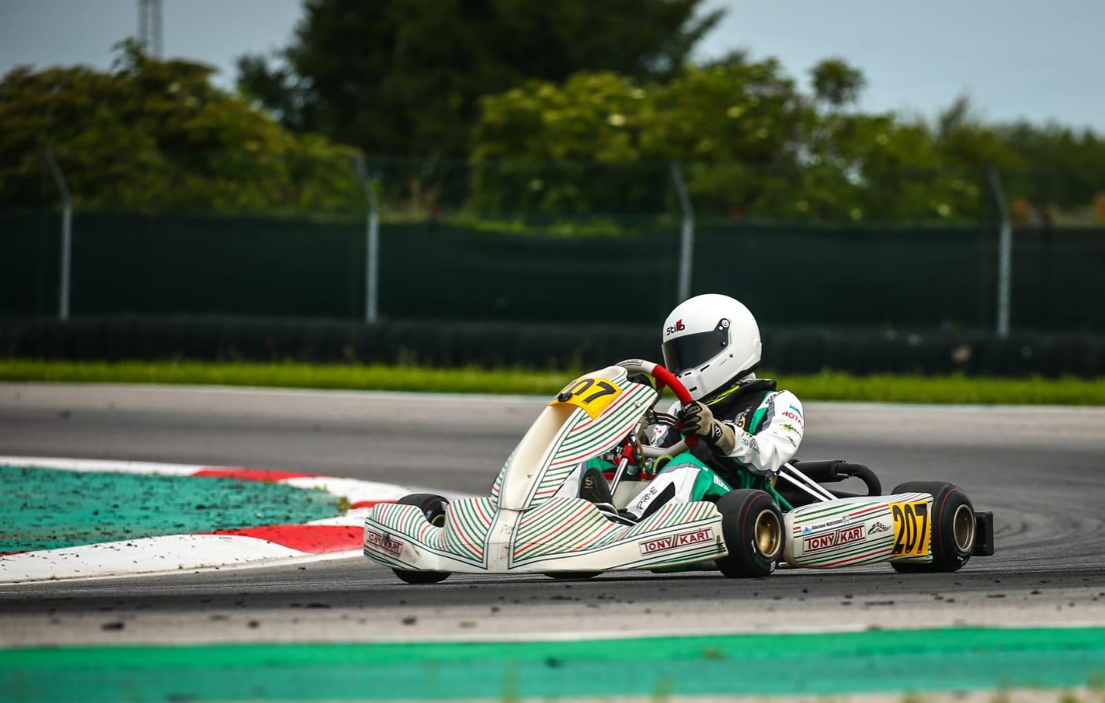 Scuderia San Marino – Giacomo Marchioro subito protagonista nel Campionato Europeo Rotax – Valli e Meloni brillano nel GT