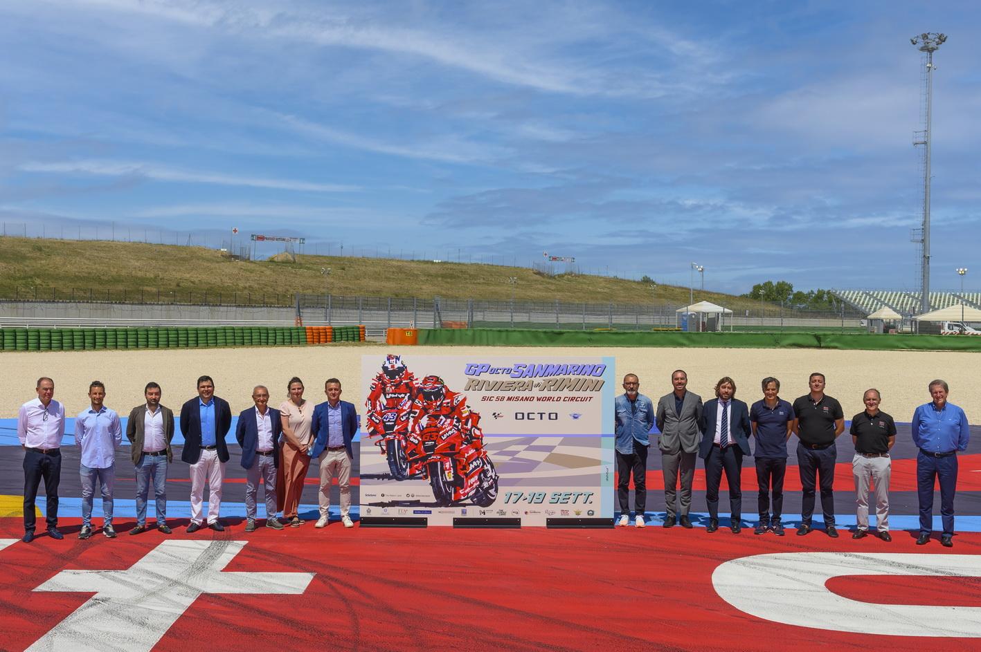 Verso il Gran Premio di San Marino e della Riviera di Rimini – Svelato il poster ufficiale